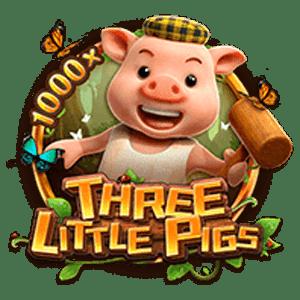 FC THREE LITTLE PIGS สล็อตลูกหมูสามตัว