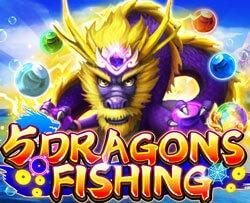 เกมยิงปลา JDB 5DRAGONS FISHING