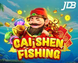 เกมยิงปลา JDB CAI SHEN FISHING